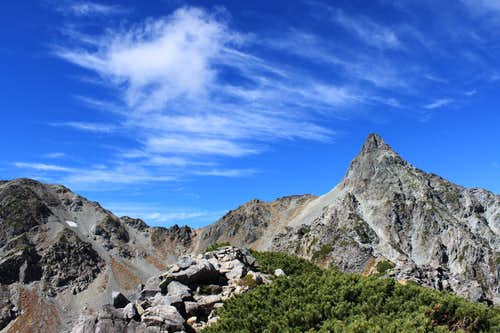 Nearly Mt. Yari