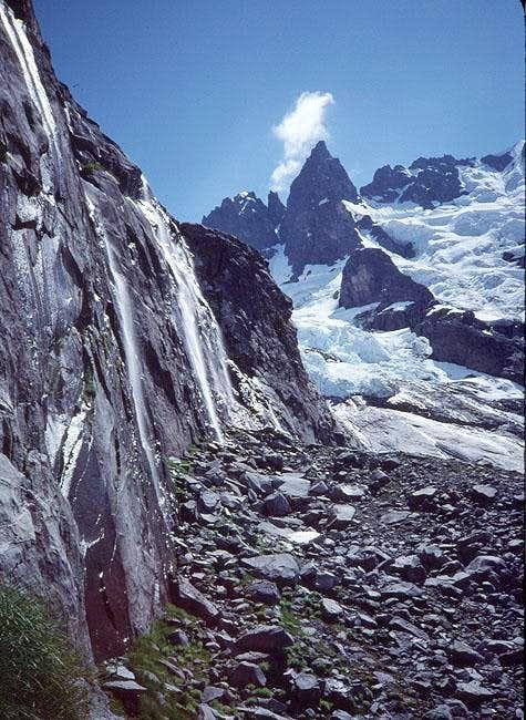 Water on the ridge