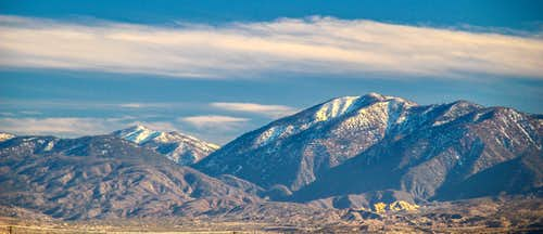 San Gabriel Mountains from the north