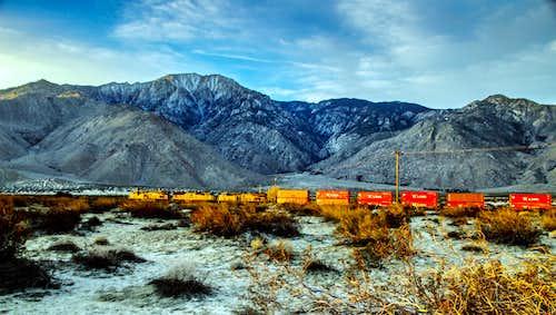 Union Pacific chuggin' down the line