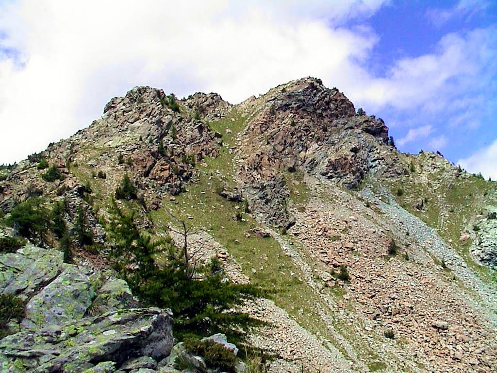 CURT XI° Peaks were desolate and abandoned by God and men