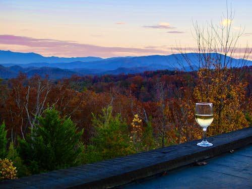 Sunset and Wine!