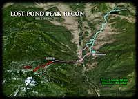 Lost Pond Peak RECON - Trip Summary