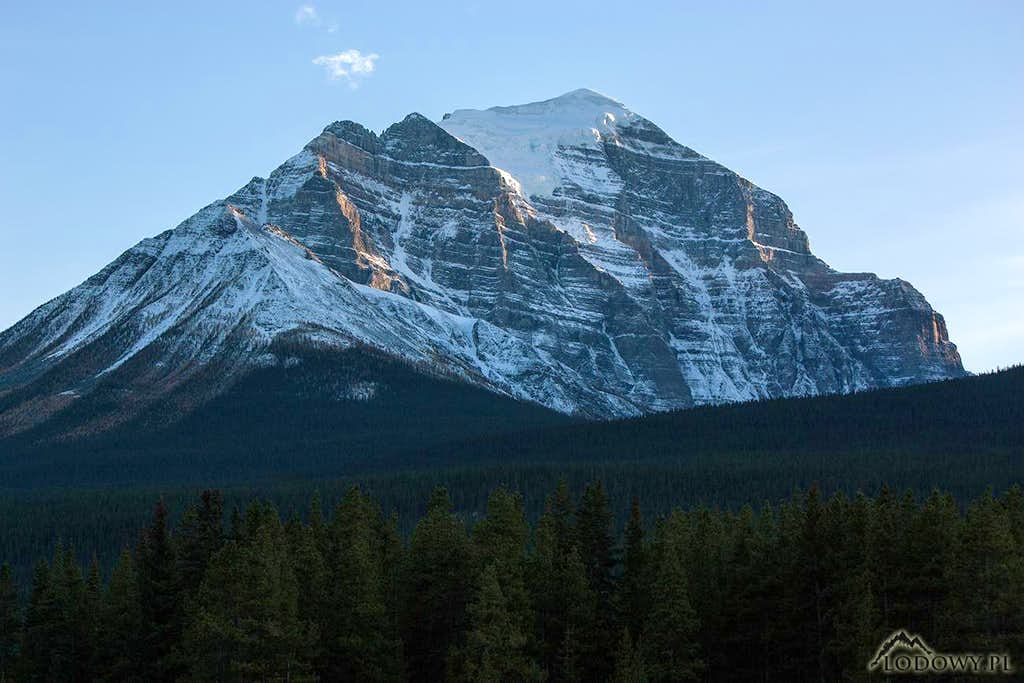 Mt. Temple from Lake Louise