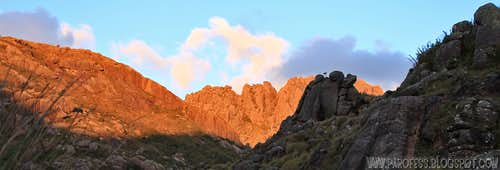 Agulhas Negras in alpenglow