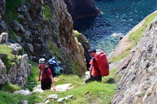 Donegal Sea Stack Climbing