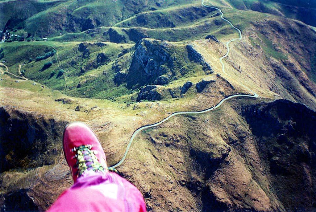 Port Hills - Paragliding