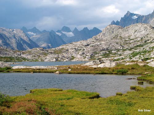 Lower Titcomb Basin After the Storm