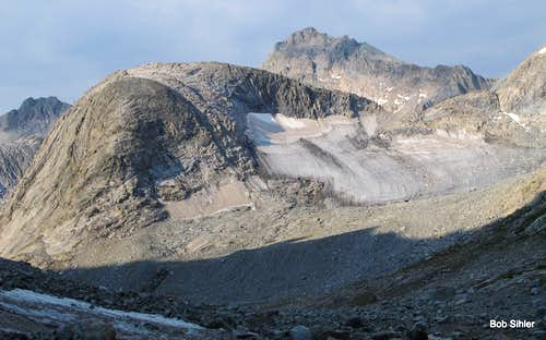 Henderson Peak and Twins Glacier