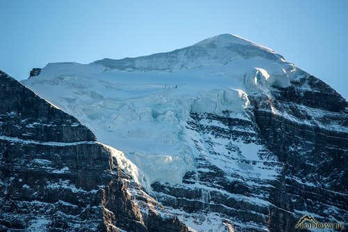 Mount Temple glacier