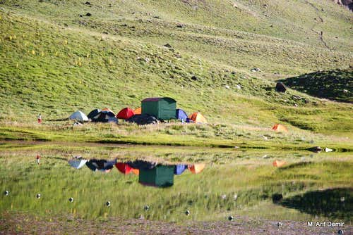 Karagöl camp area