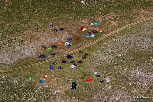 Tents of Bolkar Mountains