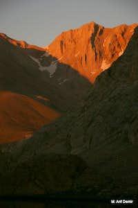 Sunset on Bolkar's