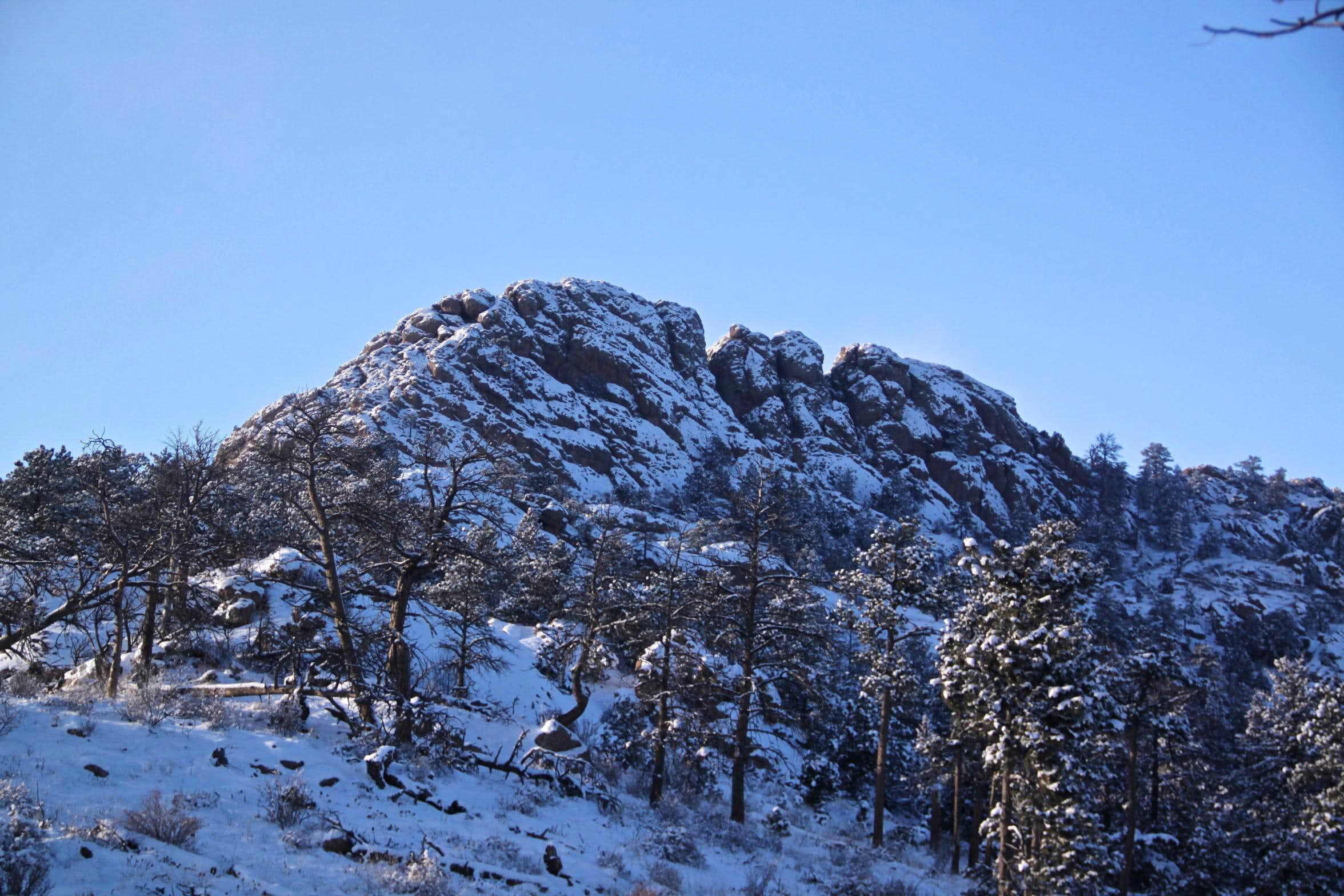 Winter Hike - Horsetooth Mountain