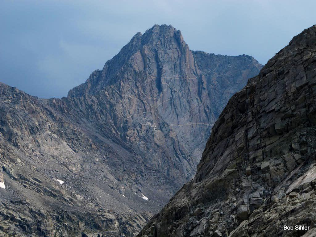 Mount Sacagawea from Twins Glacier