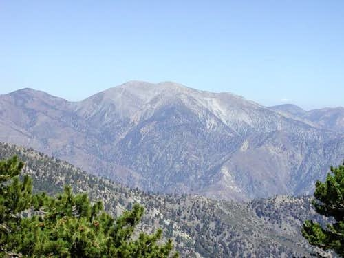 View of Mount Baldy from...