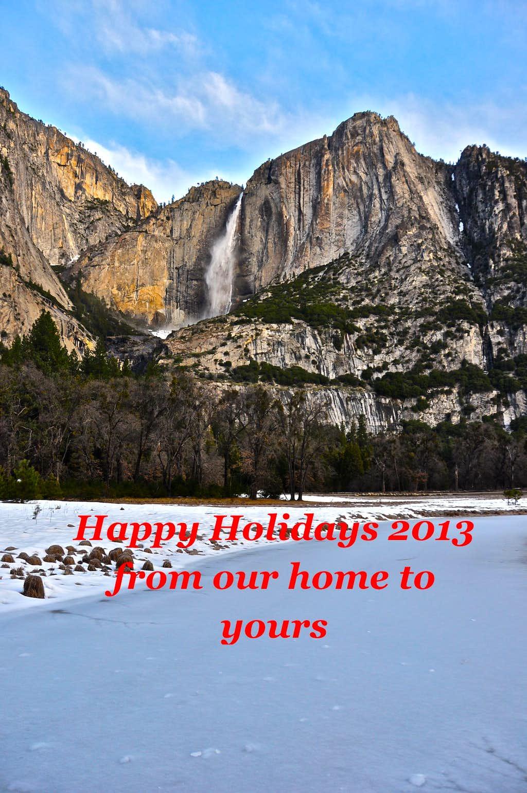 Holiday Greetings 2013