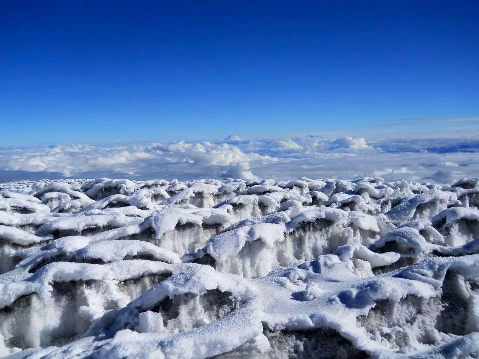 Chimborazo - Bosque de penitentes