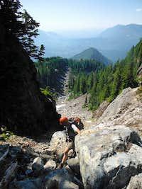 Ascending Mount Baring