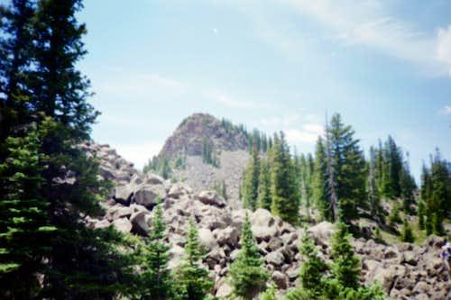 Approaching North Mamm Peak.