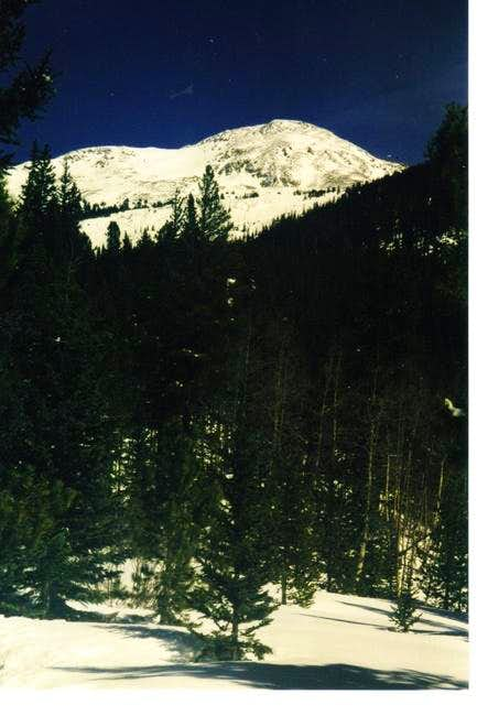 Mt Yale, March \'98, the year...