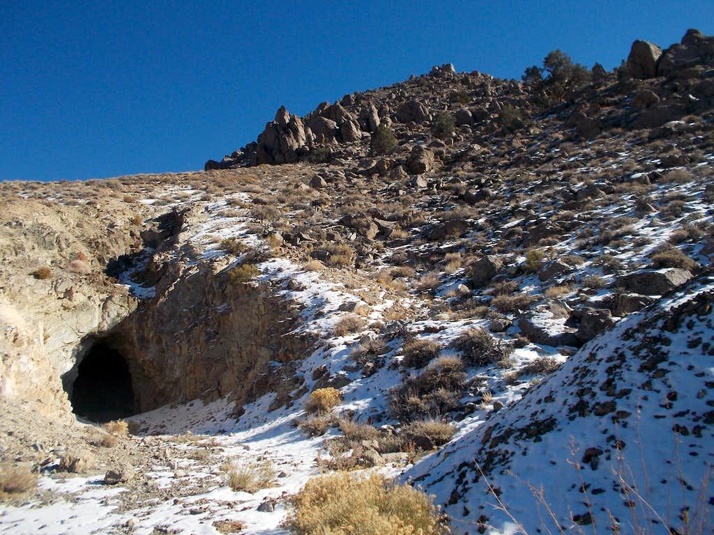 Poleta Mine hike north of Redding Canyon