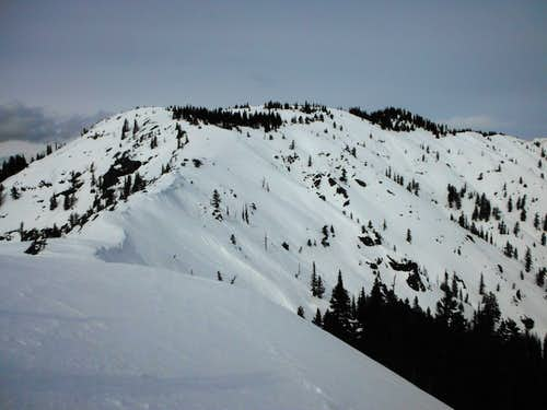 Elbow Peak and Yellow Hill 3-2-2013