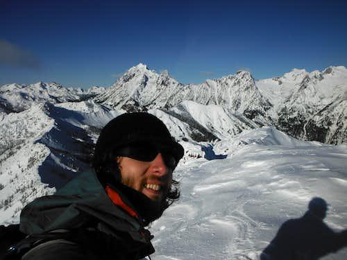 Trekking through Powder to Earl Peak 11-25-2012