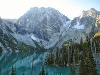 Colchuck Lake, Dragontail Peak, and Aasgard Pass
