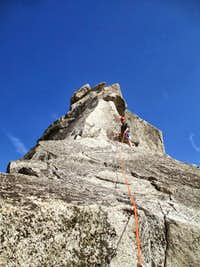 Prusik Peak West Ridge Friction Slab