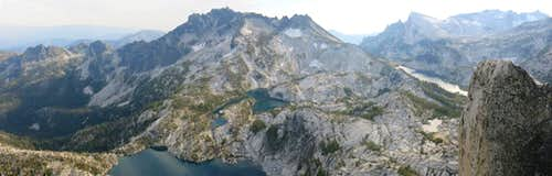 Enchantments from Prusik Peak