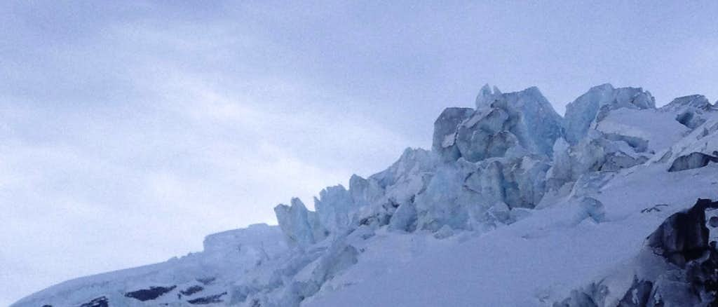A side trip to the Coleman Glacier