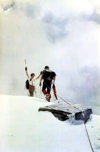 Grande Rousse complete Traverse Southern Summit 1980