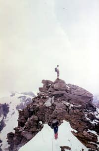Grande Rousse complete Traverse To little tower 1980