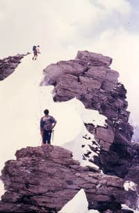 Grande Rousse complete Traverse To South Summit 1980