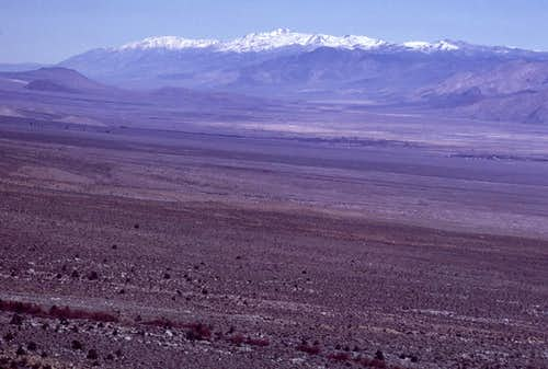 Owens Valley and White Mountains