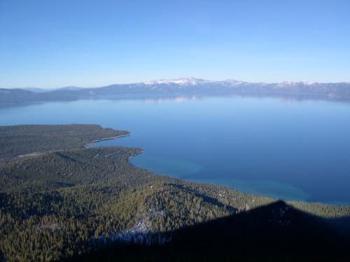 Tahoe with the shadow of...