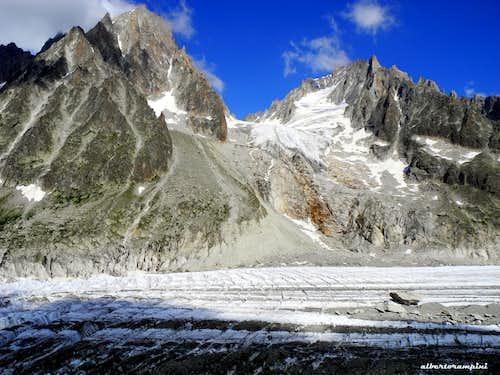 Approach to the Argentière Glacier