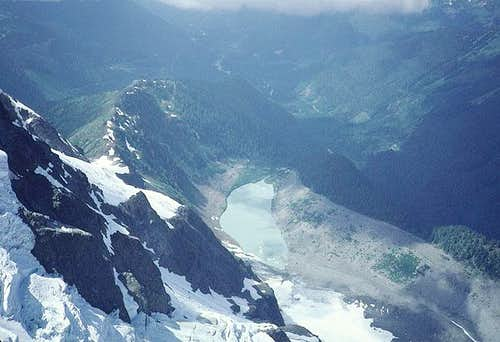 The view form 8,200+ feet,...