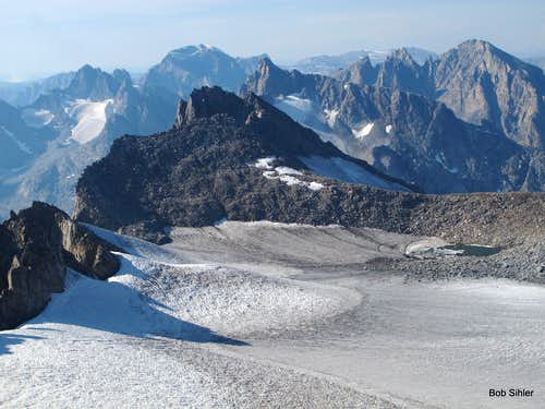 Gannett Peak and Upper Fremont Glacier