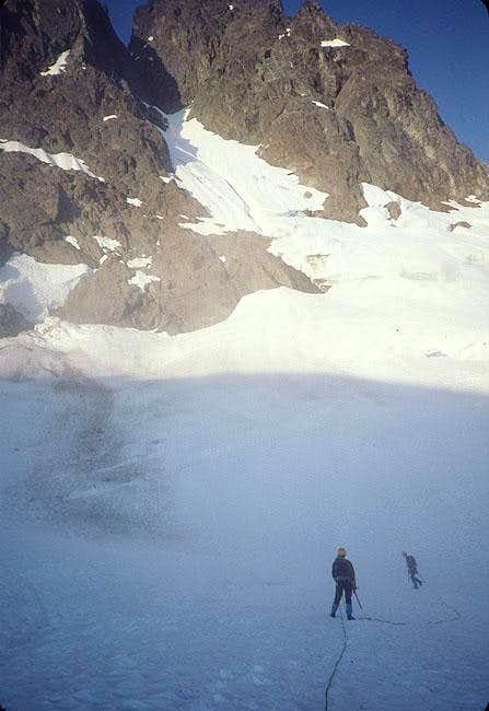 The upper glacier. The...