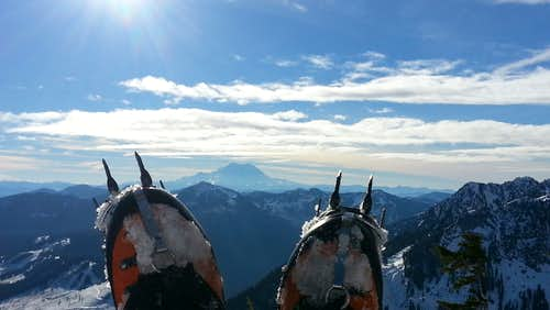 View from atop Snoqualmie mountain
