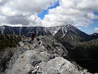 Skipping along the ridge