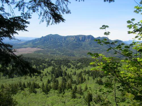 nearby peak