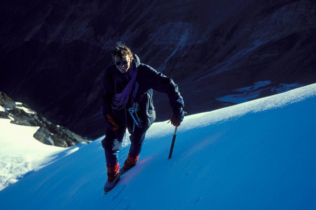 Kees on Shaltar Peak