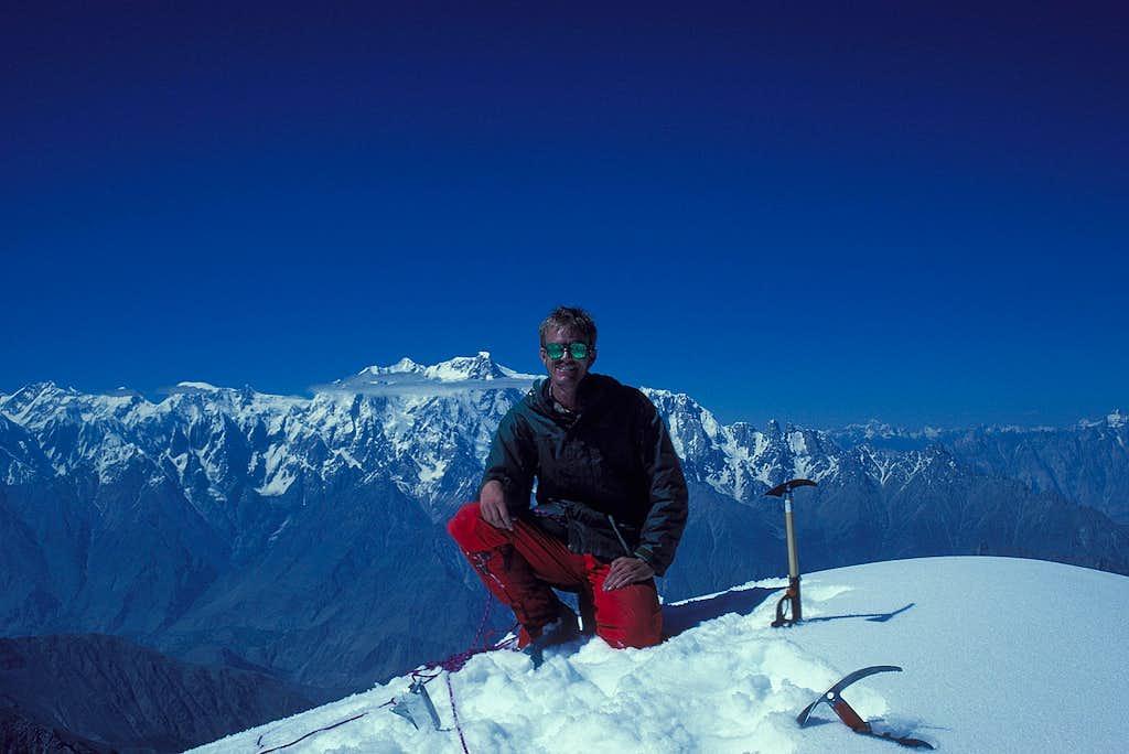 Pete on Shaltar Peak