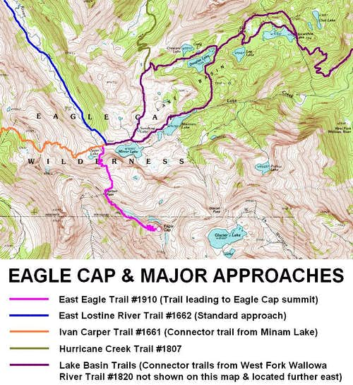Eagle Cap - Standard Approaches