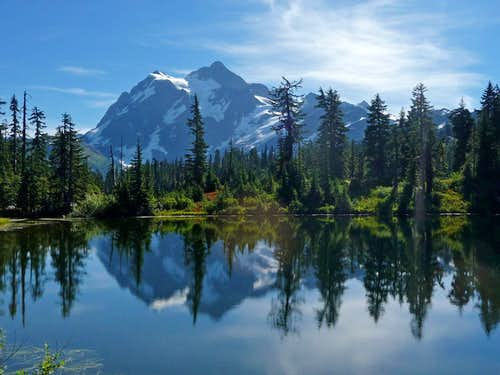Mount Shuksan Reflection from Picture Lake
