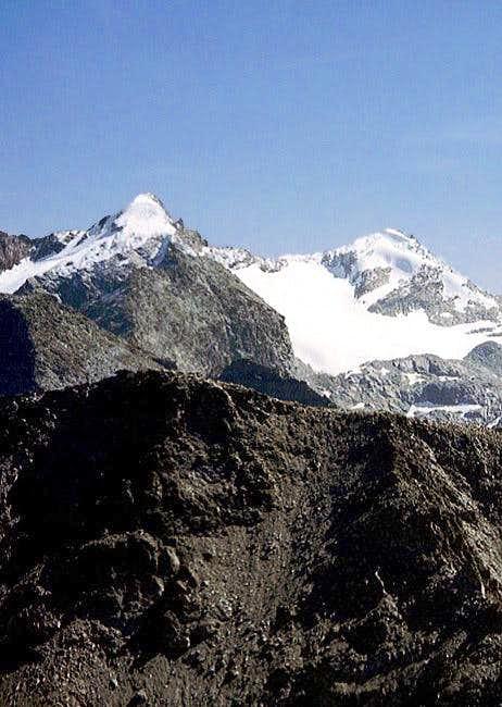 Monte Paramont and Testa del...