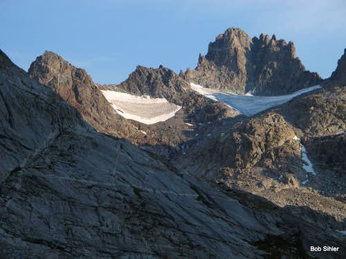 Mount Woodrow Wilson from Titcomb Basin